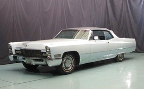 102: 1968 Cadillac deVille Convertible