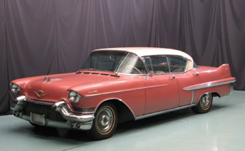 103: 1957 Cadillac Sedan deVille Four Door Hardtop