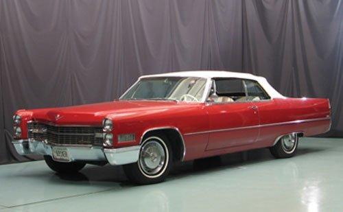 105: 1966 Cadillac deVille Convertible