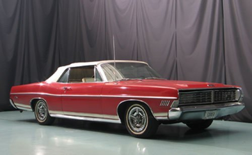 107: 1968 Ford XL Convertible