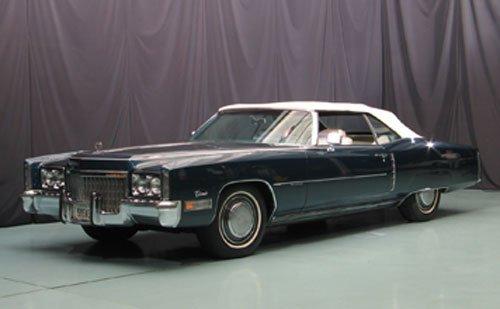 108: 1972 Cadillac Eldorado Convertible