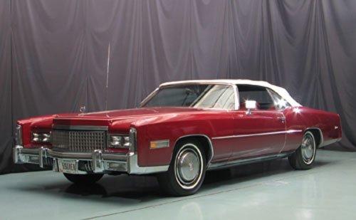 110: 1975 Cadillac Eldorado Convertible