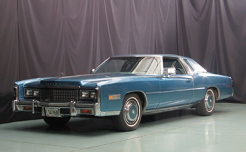 111: 1978 Cadillac Eldorado Biarritz Coupe