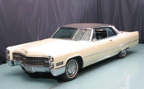112: 1966 Cadillac deVille Convertible