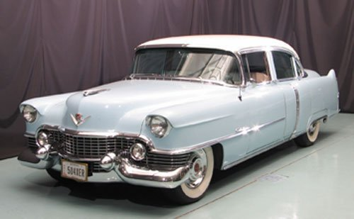113: 1954 Cadillac Series 62 Four Door Sedan