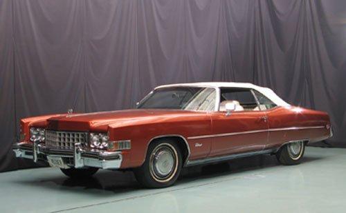 114: 1973 Cadillac Eldorado Convertible