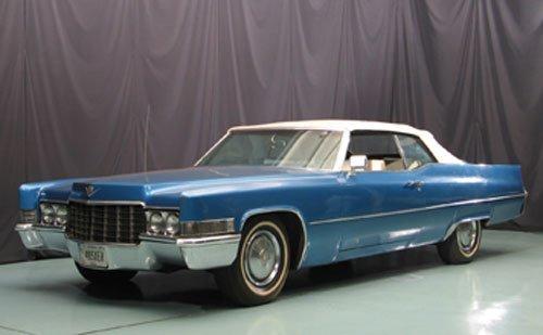 115: 1969 Cadillac Convertible