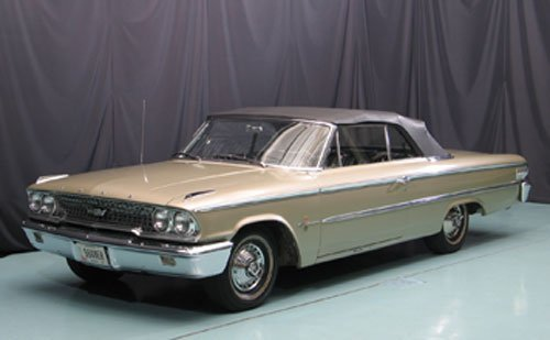 116: 1963 Ford Galaxie 500 XL Convertible