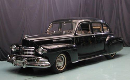 117: 1947 Lincoln V-12 Sedan