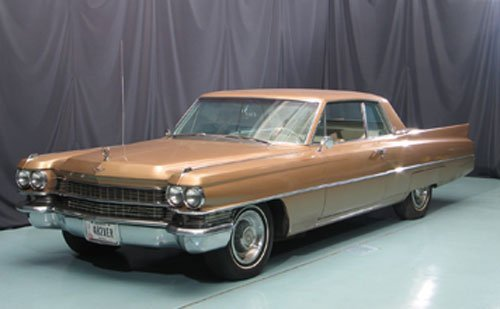 118: 1963 Cadillac Series 62 Two Door Hardtop