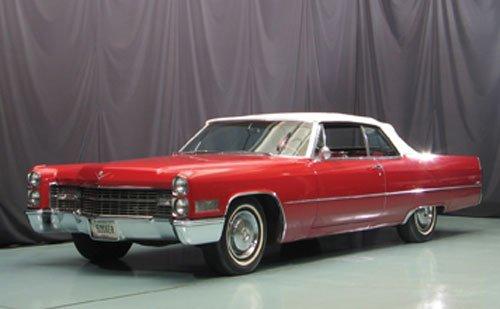119: 1966 Cadillac deVille Convertible