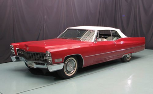 120: 1967 Cadillac deVille Convertible