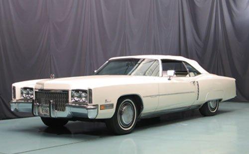 122: 1972 Cadillac Eldorado Convertible