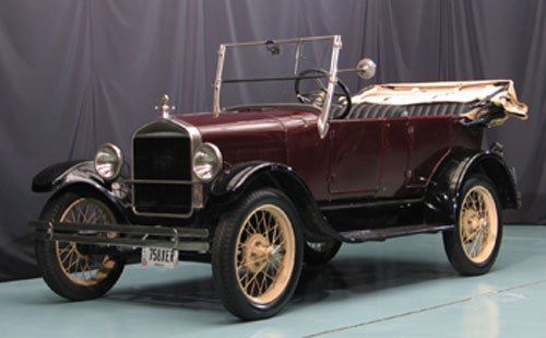 123: 1927 Ford Model T Touring Car
