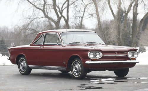 602: 1963 Chevrolet Corvair Monza Coupe