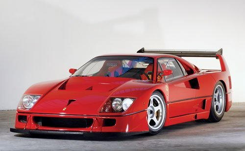 313: 1990 Ferrari F40/LM