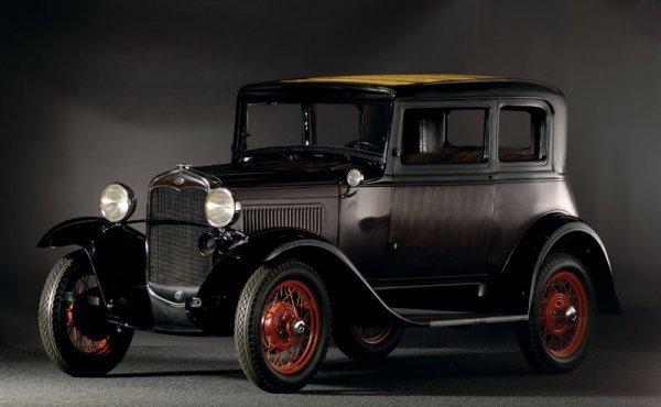 201: 1931 Ford Model A Victoria