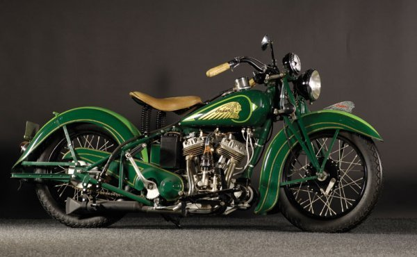 206: 1937 Indian Sport Scout