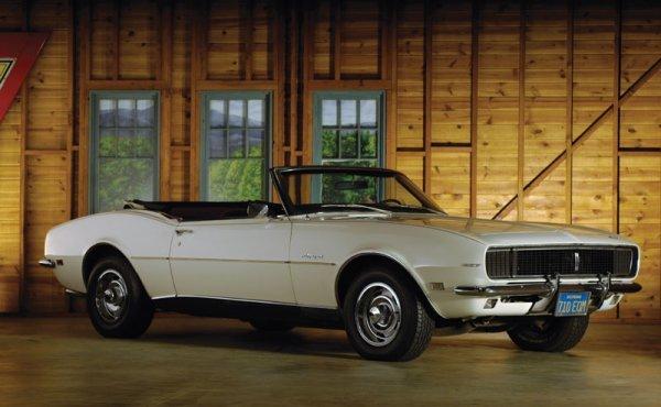 207: 1968 Chevrolet Camaro Convertible