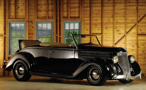 209: 1936 Ford Roadster Hot Rod