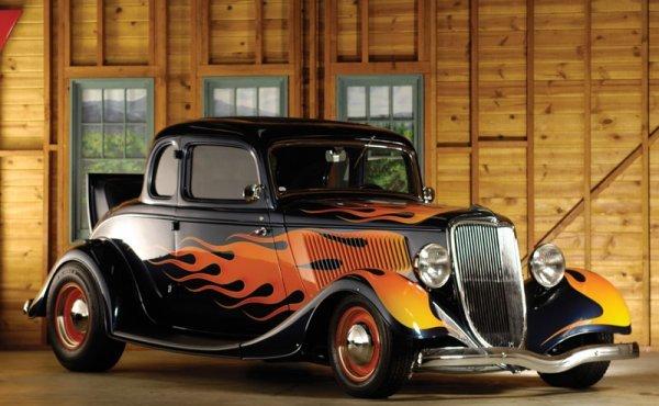 212: 1934 Ford Five-Window Custom Coupe