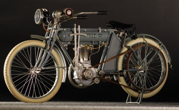 """214: 1912 Yale """"4P"""" Belt-Drive Single"""