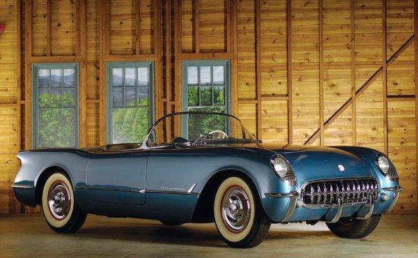215: 1954 Chevrolet Corvette Roadster