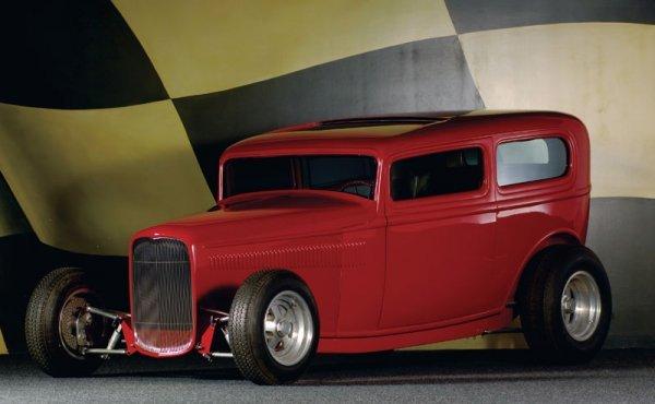 219: 1932 Ford Buttera/Bradley Custom Sedan