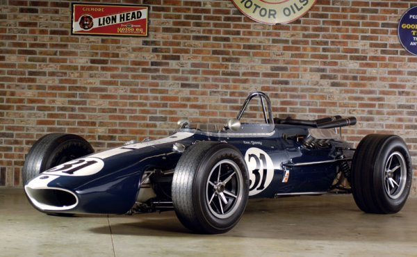 225: 1966 All American Racers Gurney Eagle Indy Car