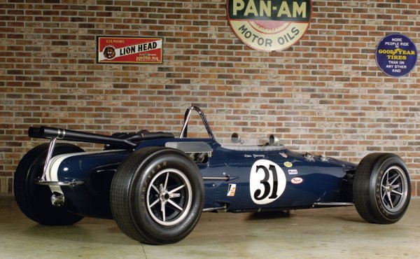 225: 1966 All American Racers Gurney Eagle Indy Car - 2