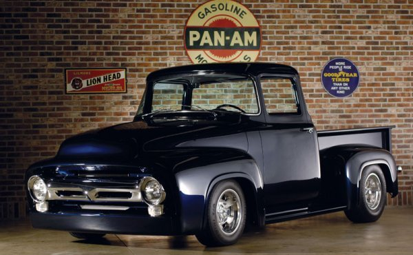 232: 1956 Ford F-100 Custom Cab Pickup