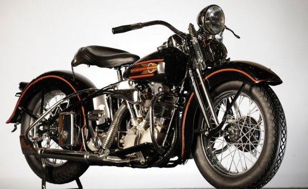 Harley Davidson: 249: 1937 Harley-Davidson EL Knucklehead