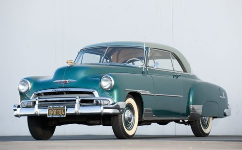 101: 1951 Chevrolet Deluxe Coupe