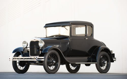 105: 1929 Ford Model A Standard Coupe
