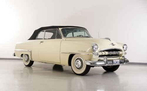 106: 1953 Plymouth Cranbrook Convertible