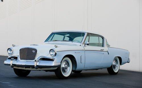 107: 1956 Studebaker Sky Hawk Coupe