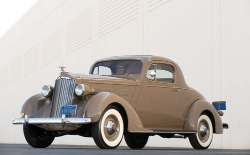 108: 1937 Packard Six Coupe