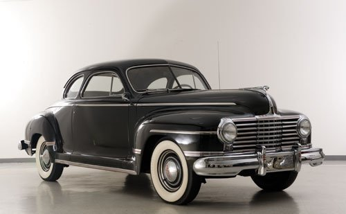 109: 1942 Dodge Custom Series D22 Club Coupe
