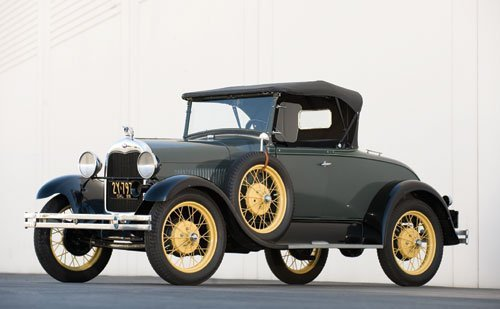 113: 1928 Ford Model A Roadster