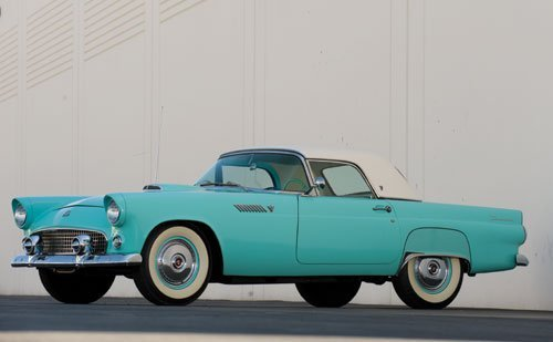 116: 1955 Ford Thunderbird Convertible