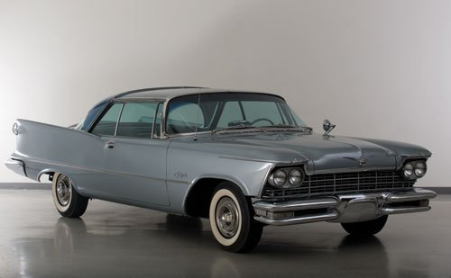 117: 1957 Chrysler Imperial Crown Coupe