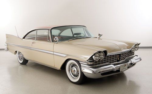 123: 1959 Plymouth Fury Coupe