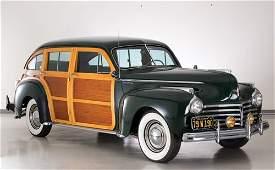 148 1941 Chrysler Town  Country NinePassenger Estate