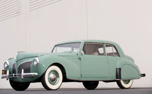 151: 1941 Lincoln Continental Coupe