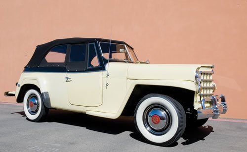 305: 1950 Willys Jeepster