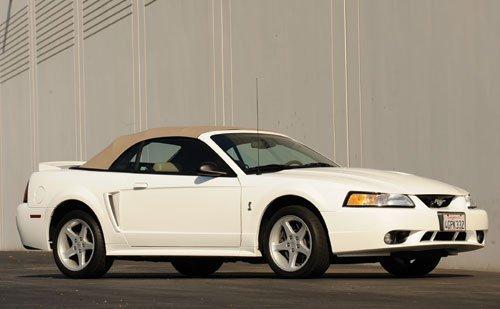 306: 1999 Ford Mustang SVT Cobra Convertible