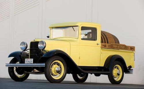 308: 1932 Ford Model B Vintner's Truck