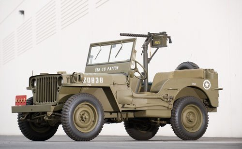 309: 1943 Ford GPW Jeep