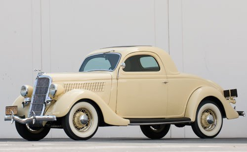 314: 1935 Ford Three-Window Rumble Seat Coupe
