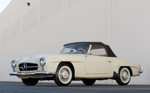 320: 1957 Mercedes-Benz 190 SL Roadster